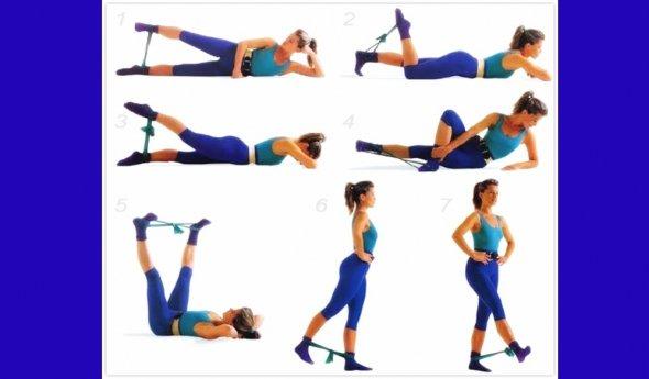 Набор упражнения для похудения
